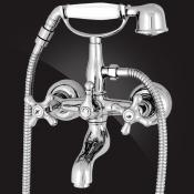 Two-handle bath/shower mixer
