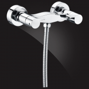 Two-handle shower mixer